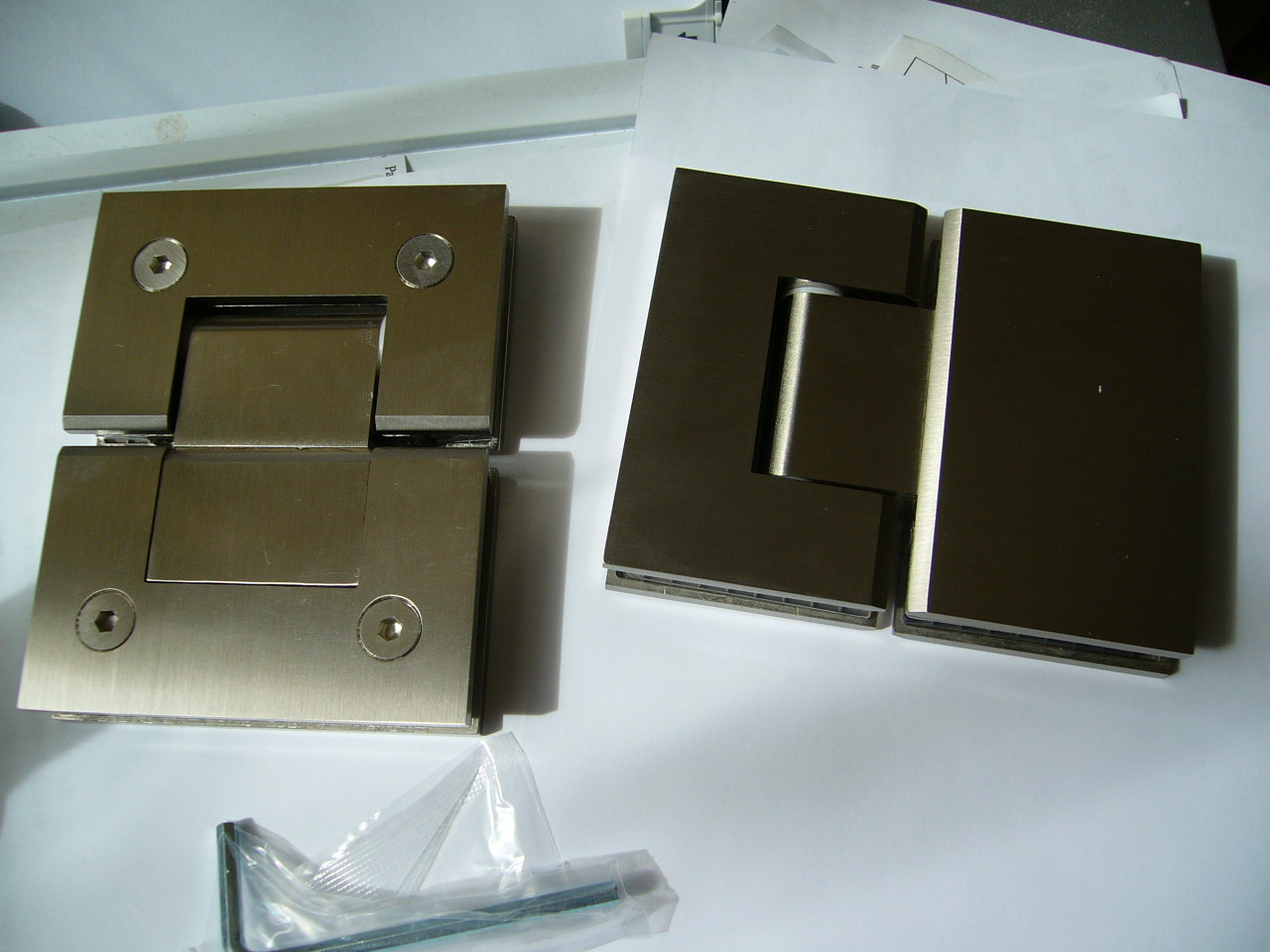Glass To Glass Hinges Glass Fittings Shower Fittings